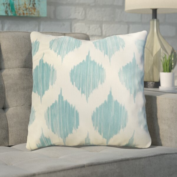 Cline 100% Cotton Throw Pillow by Mercury Row| @ $58.00